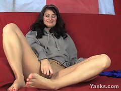 Ariel yanks shows you how to fuck sweat shirts