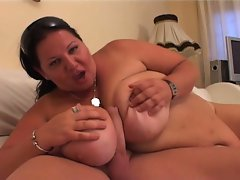 Big fat momma drilled hardcore