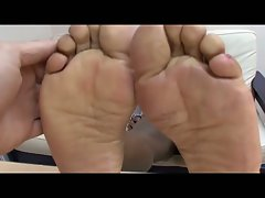 Babe with hot black feet drilled by white dude