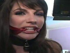 Sasha grey hardcore and bondage her mouth.