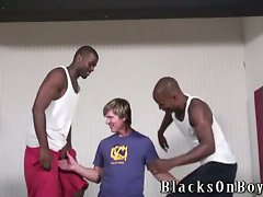 Gay Interracial Threesome
