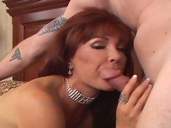 Nasty Brunette Momma with Monster Tits