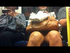 Public Transport Upskirt - Indian Lady