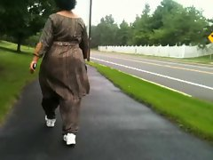 Mature Indian Ass Walking