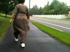 Mature Indian Ass Walking