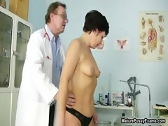 Naughty mature mom gets