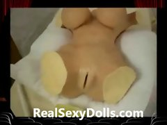Fleshlight Insertion into Lifelike Sex Doll
