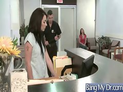 In Doctor Office Horny Girls Get Banged clip-18