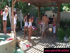 Real Slut Party - Sexy Teens Gangbang Party Fuck 16