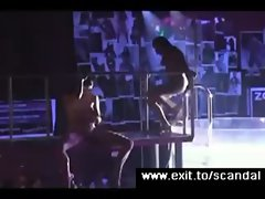 Public Sex degeneration On Stage