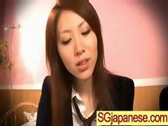 Asians Girls In School Uniforms Get Banged video-01