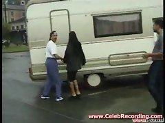 German trailer park porn