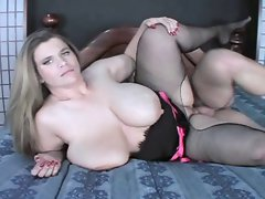 Big melons Big beautiful woman Haley Grinded And Spoonfed Jizz