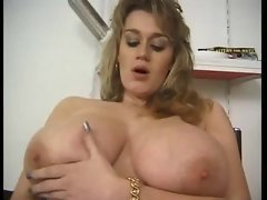 Big titted tempting blonde Pina Mayer 1