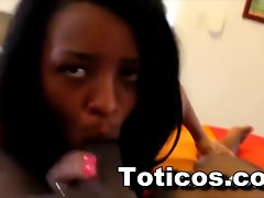 Toticos.com dominican ebony teenager Ashlei Point of view cock sucking