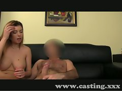 Casting Randy amateur caresses and screws in interview