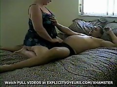 Cute bbw Strokes Husband