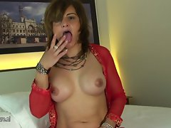 Aged mature whore loves to get dewy and wild