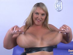 Big melons Carol Brown Latex Fun