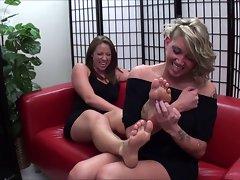 Tickle my feet