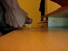 Huge cum in slow motion 3