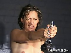 Bizarre woman soldiers humiliation and wild bdsm