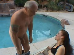 Older lad catches 19yo thing doing herself