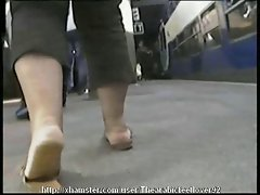 Candid arabic feet 12