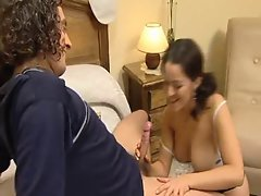 Beauteous Italian Chesty girlie banged hard.