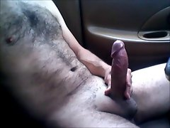 Naked Car Jerking