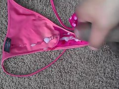 cum on nieces pinkish vs string panty