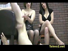 Katy and Miranda punish fellows