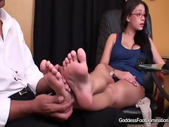 Psychology of a foot fetish