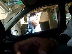 flashing pecker dickflash public masturbation in my car