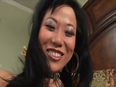 Asian deepthroat whore