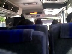 Masturbating on the bus