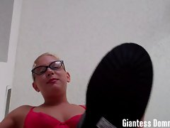 Giantess Summer stomps and destroys you
