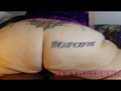 SSBBW Luscious MAE LAPDANCE, Penis SUCK, RIDE ON SEXYMAEBBW.CO