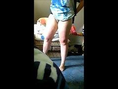 My slutty wife wears panties