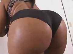 Ebony lassie with amazing Naughty butt gets BBC