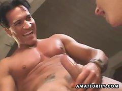 Amateur fuck partner homemade butthole double penetration