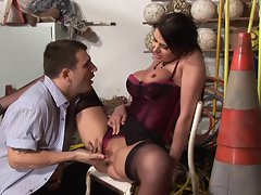 Great Lewd Cougar Eva Karera 4