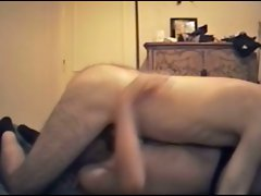 Tempting blonde licking my balls and pecker