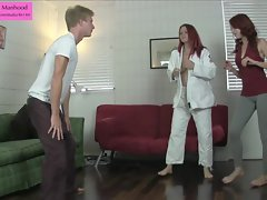 Luscious Self Defense Ballbusting Trampling Foot Stuffing Previe