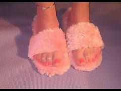 Sensual Nylon Feet Toes