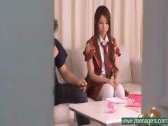 Teen Japanese Girl Get Hard Sex movie-27