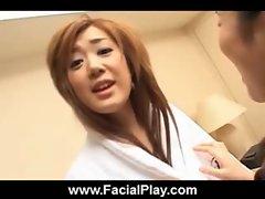 Bukkake Now - Sexy Japanese Babes Facial Cumshots 12