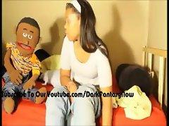 DFU Jazmine Fucks Peanut The Puppet (DFU Vidz)