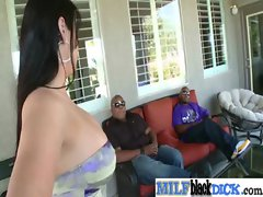 Big Black Dicks Inside Sexy Busty Milfs movie-27