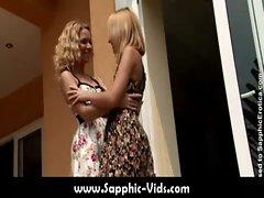 Pretty Lesbians Doing It Right - Sapphic Erotica19
